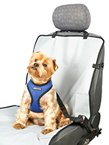 Front Car Seat Cover - This front seat waterproof cover will protect your car seat from claws, dirty paws damp and smells, not to mention other small accidents.<br /><br />The cover easily fits into your car and can be removed just as easily when you have passengers in the back seat.<br /><br />Waterproof design helps to...