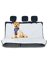 Rear Car Seat Cover - This rear seat cover will protect your car seat from claws, dirty paws damp and smells, not to mention other small accidents. The cover is lined with a waterproof membrane to prevent any liquids staining the actual car seat. The cover easily fits into your car and can be removed just as easily when...