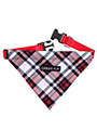 Red & White Plaid Bandana
