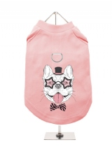''Humanimals: Fabulous Frenchie'' Harness-Lined Dog T-Shirt