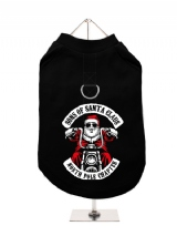 ''Christmas: Sons Of Santa Claus'' Harness-Lined Dog T-Shirt