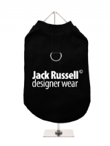 ''Jack Russell Designer Wear'' Harness-Lined Dog T-Shirt