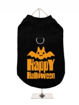 ''Halloween: Happy Halloween'' Harness-Lined Dog T-Shirt