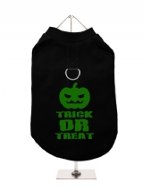 ''Halloween: Trick or Treat'' Harness-Lined Dog T-Shirt