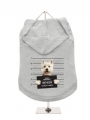 ''Police Mugshot - West Highland Terrier'' Dog Hoodie