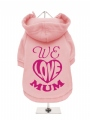 ''Mothers Day: We Love Mum'' Dog Sweatshirt
